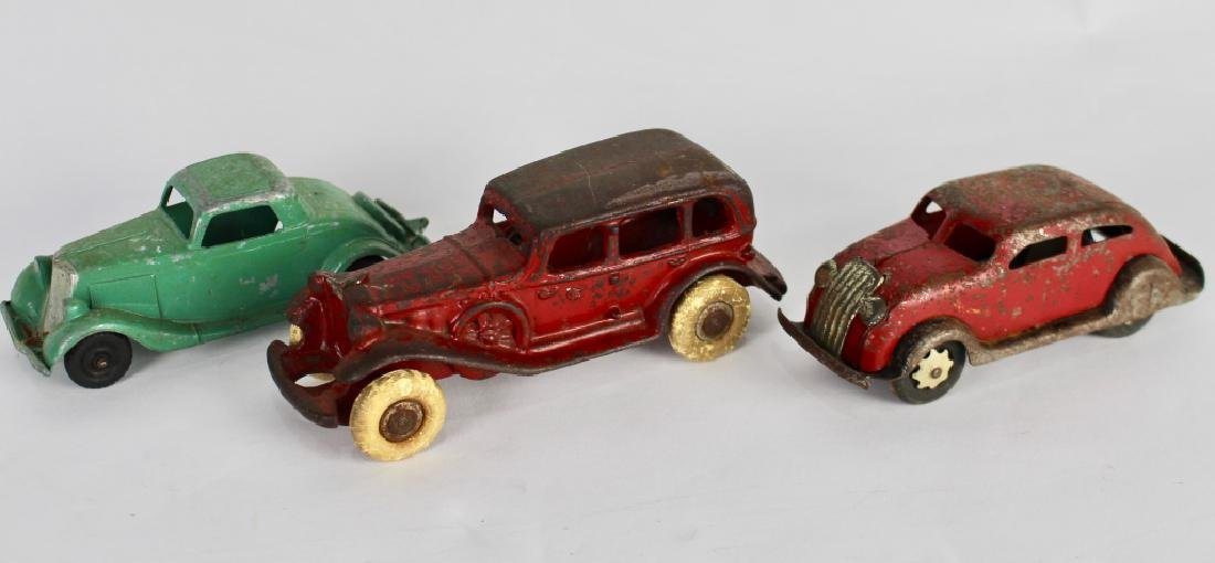 10 Vintage Toy Cars and Trucks - 3
