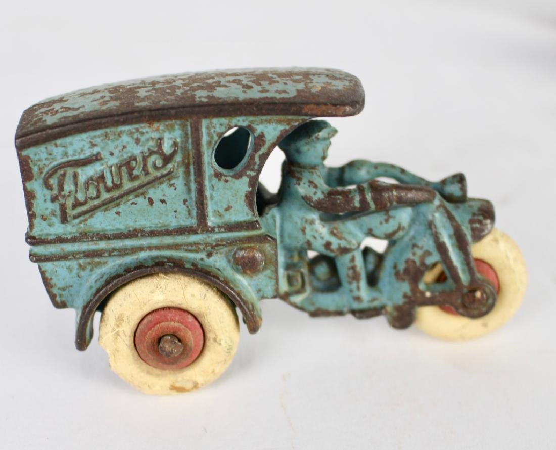 10 Vintage Toy Cars and Trucks - 5