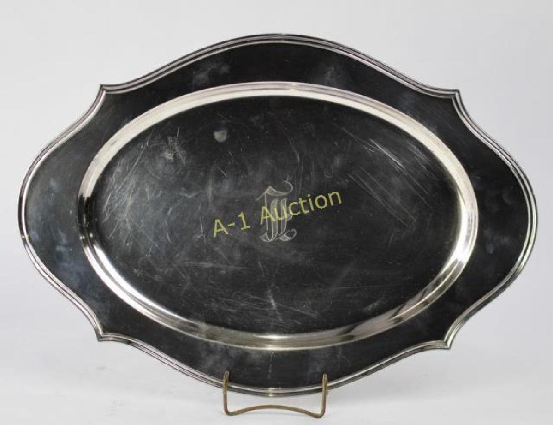 """Reed and Barton 18"""" Sterling Platter"""