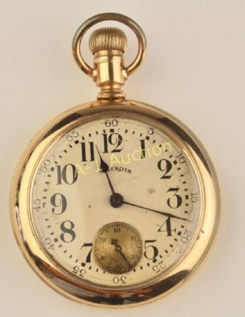 Illinois Pocket Watch, Bunn Special