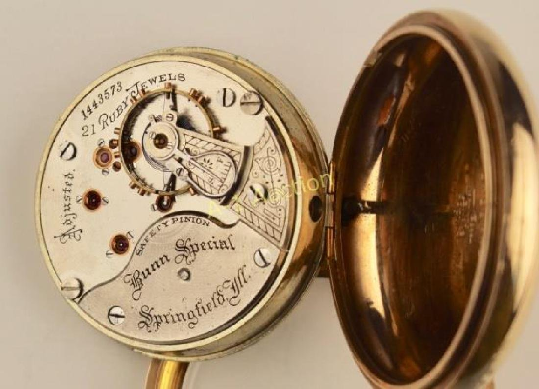 Illinois Pocket Watch, Bunn Special - 3