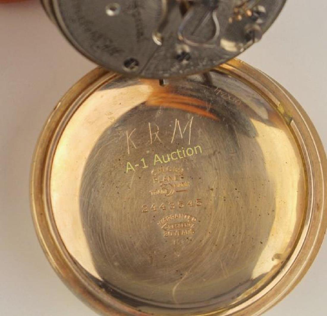 Illinois Pocket Watch, Bunn Special - 4