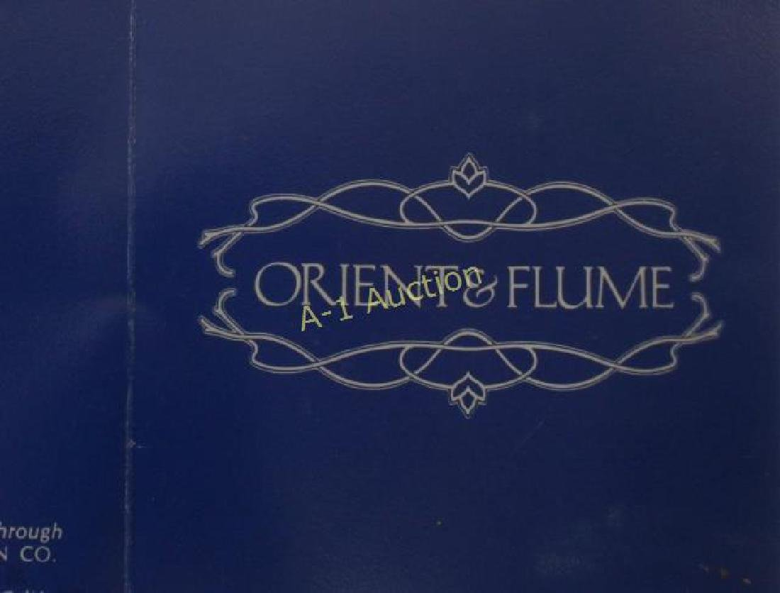 Orient and Flume Art Glass Vase - 5
