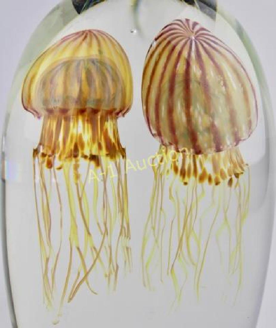 Rick Satava Double Jellyfish Paperweight - 4