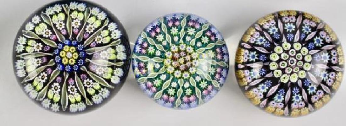 Group of 8 Art Glass Paperweights - 4