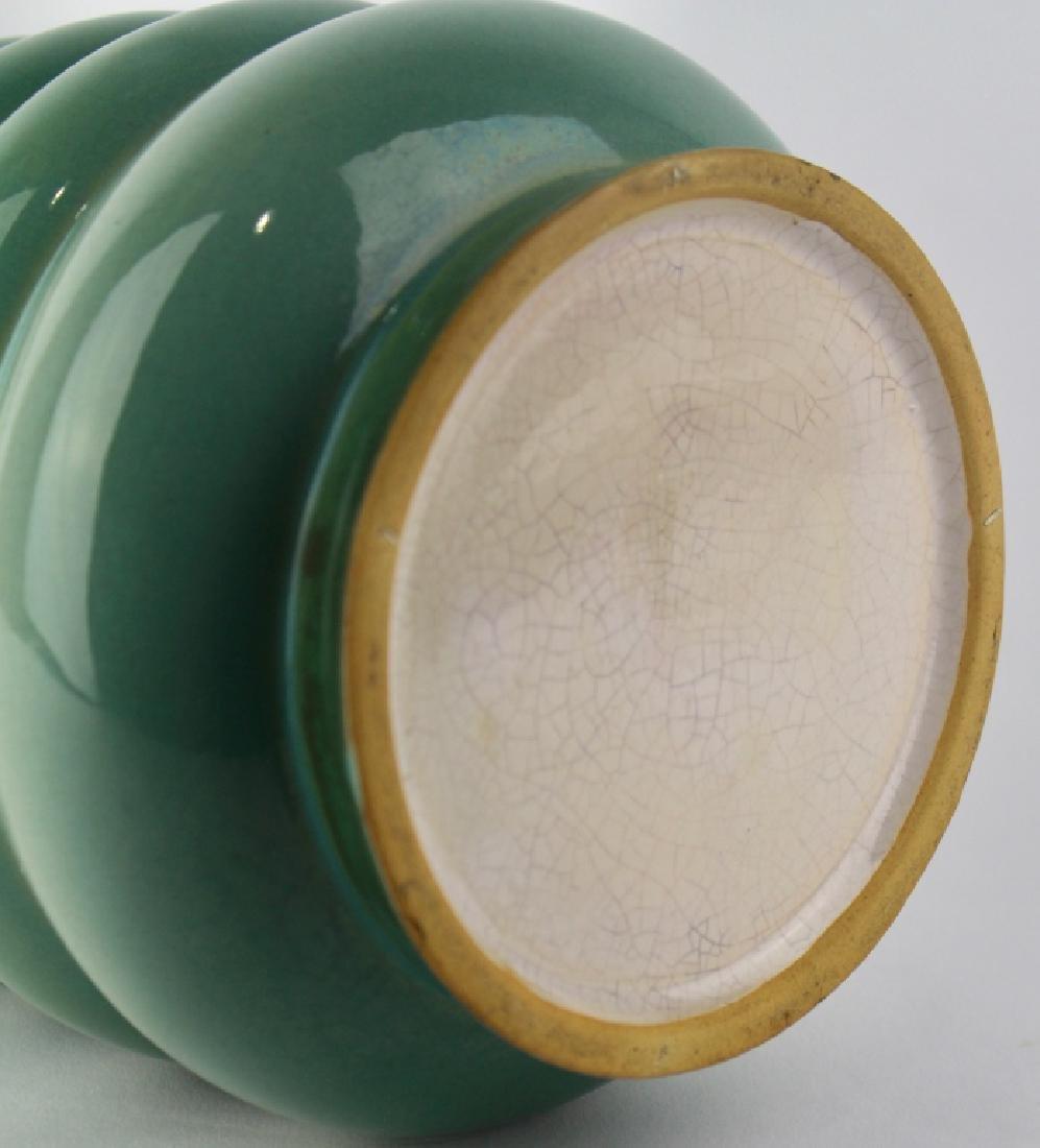Roseville Futura Vase The Michelin Tire - 2