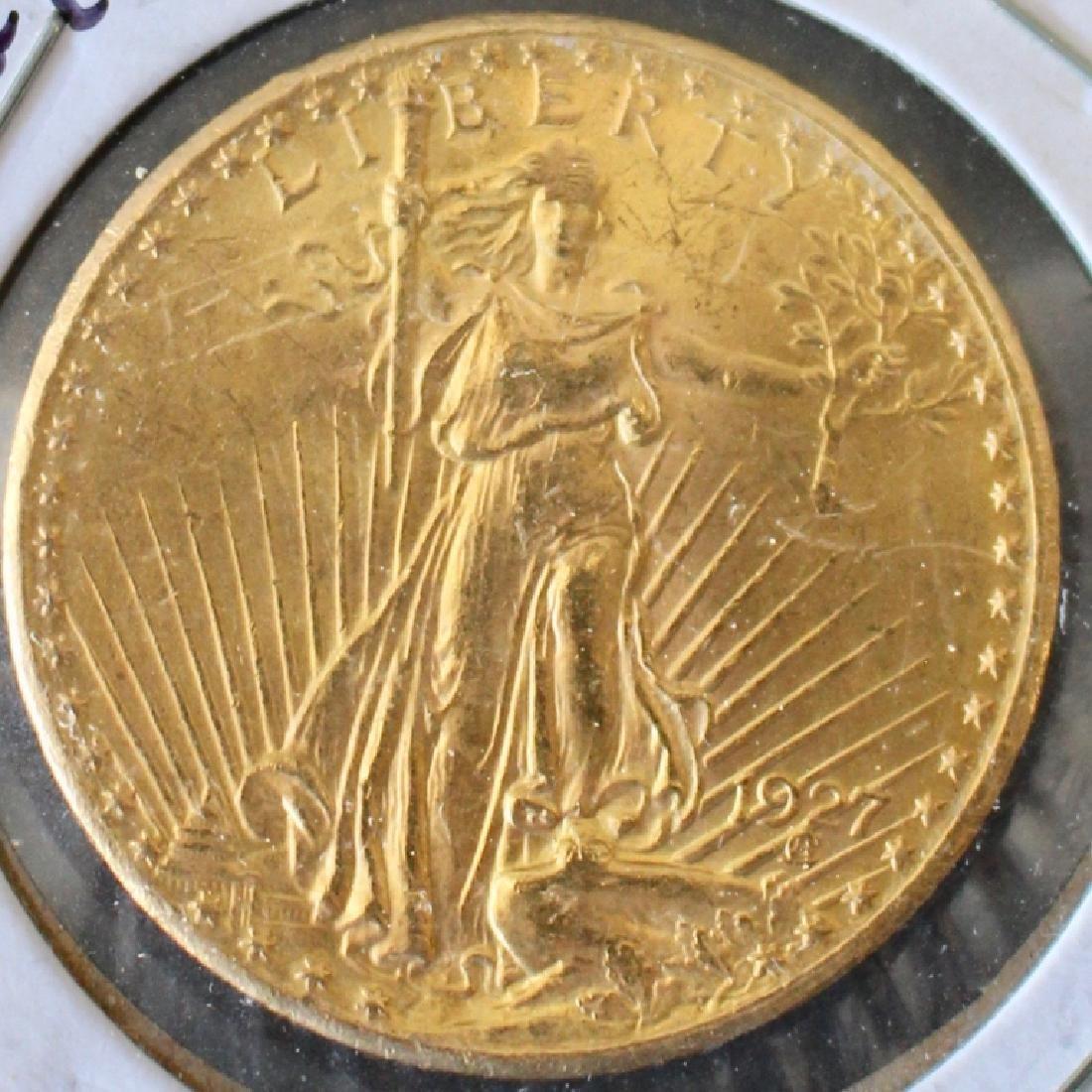 1927 St. Gaudens US $20 Gold Coin
