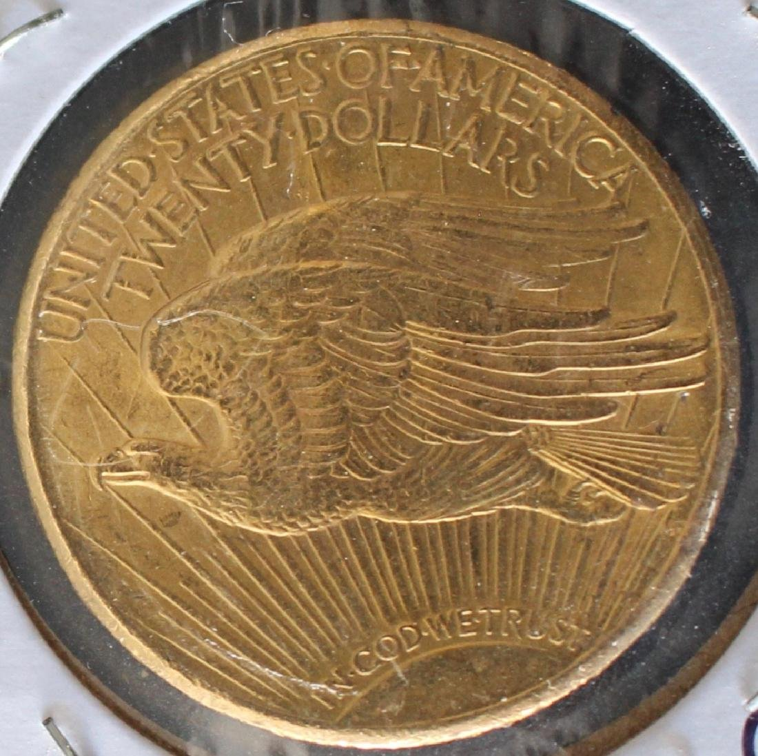 1927 St. Gaudens US $20 Gold Coin - 2