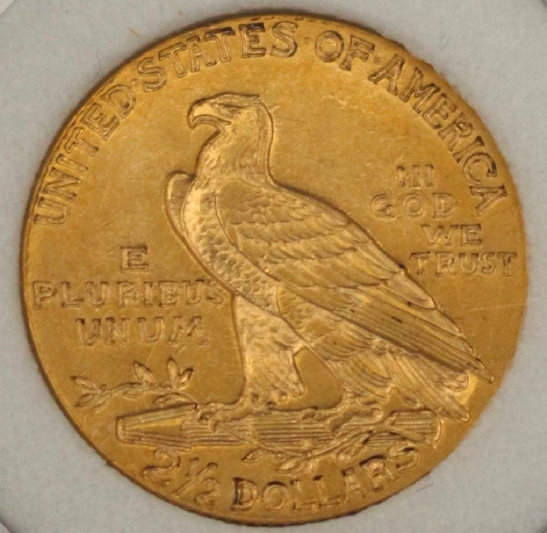 1911 $2.5 US Gold Coin - 2