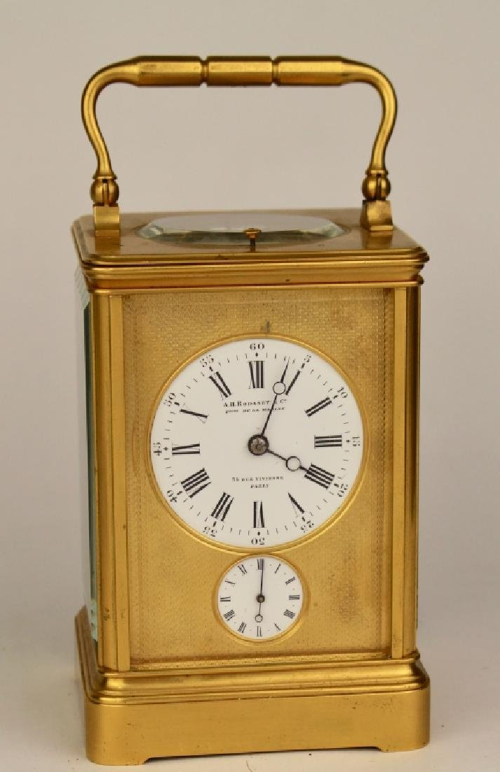 A.H. Rodanet & Co. Carriage Clock