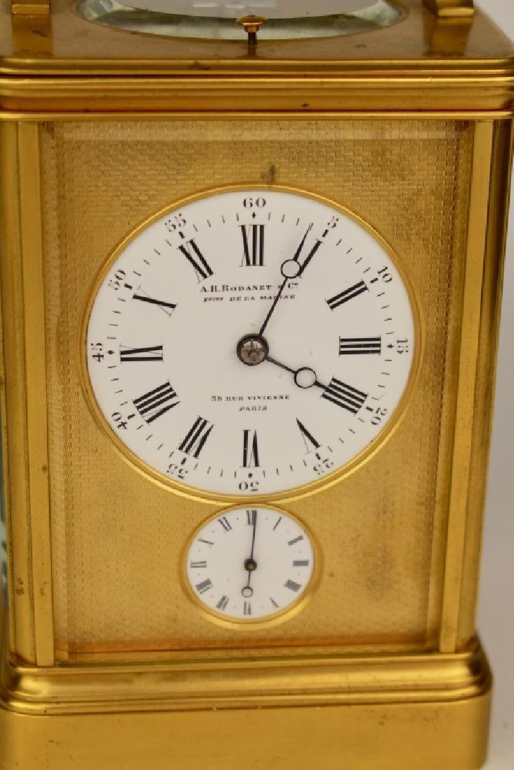 A.H. Rodanet & Co. Carriage Clock - 2