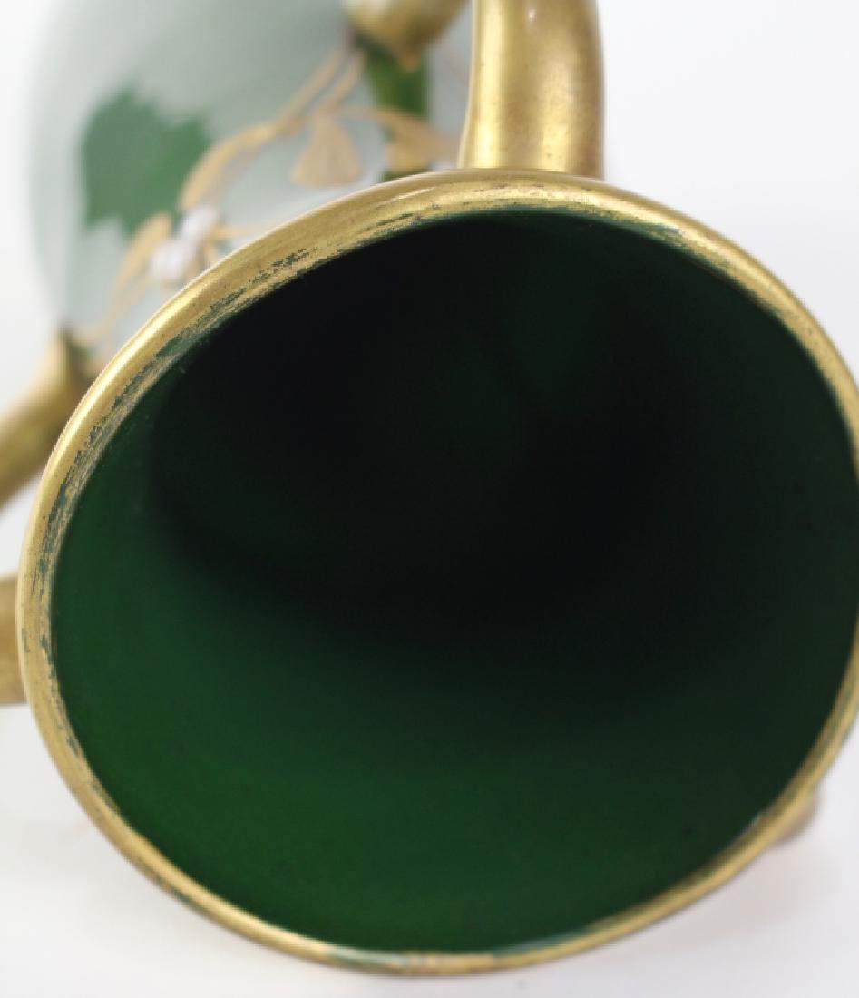 LeGras Art Nouveau Aubergine Vase - 6