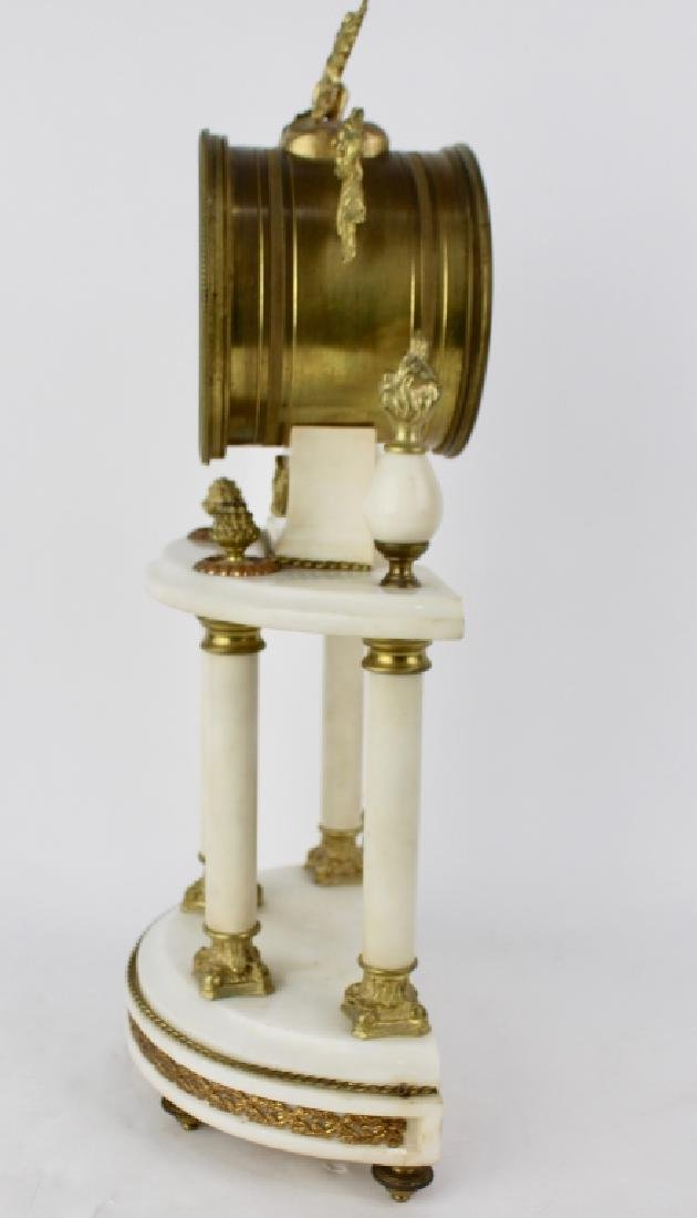 French White Marble Clock - 4