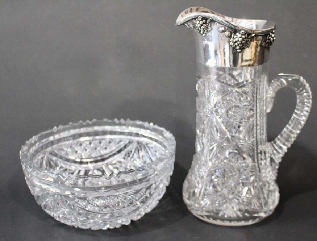 Brilliant Period Pitcher and Bowl