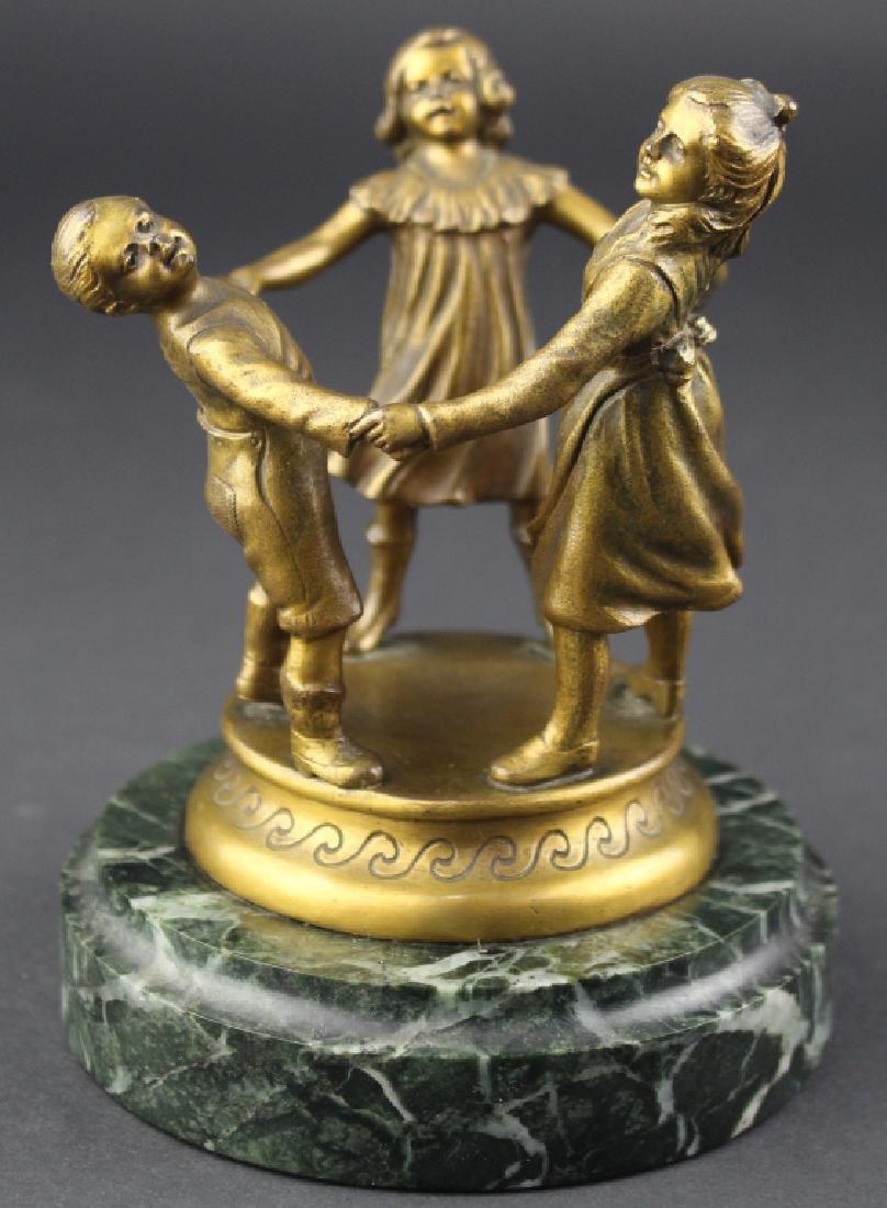 Richard W. Lange, Gilded Bronze Sculpture