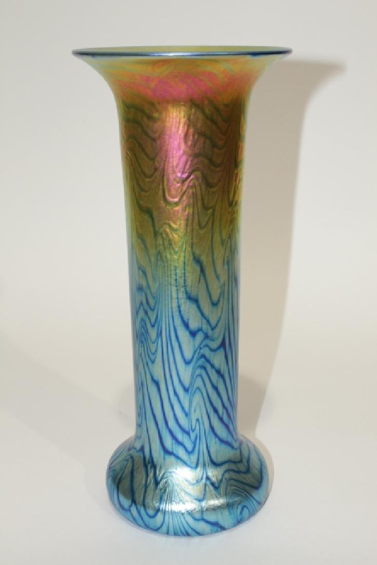 Large Lundberg Studio Art Glass Vase