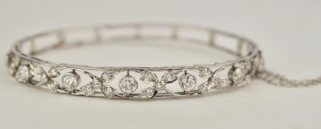 Breathtaking Platinum & Diamond Bracelet