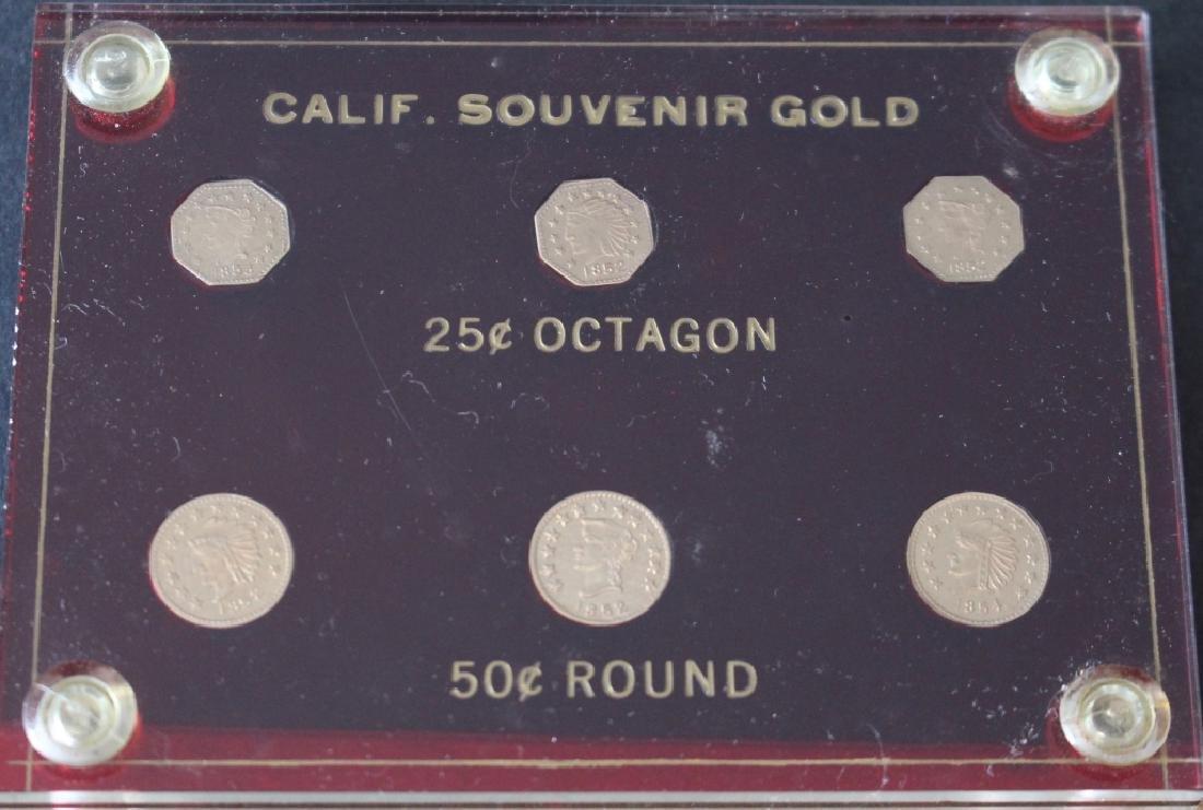 California Souvenir Gold Coins