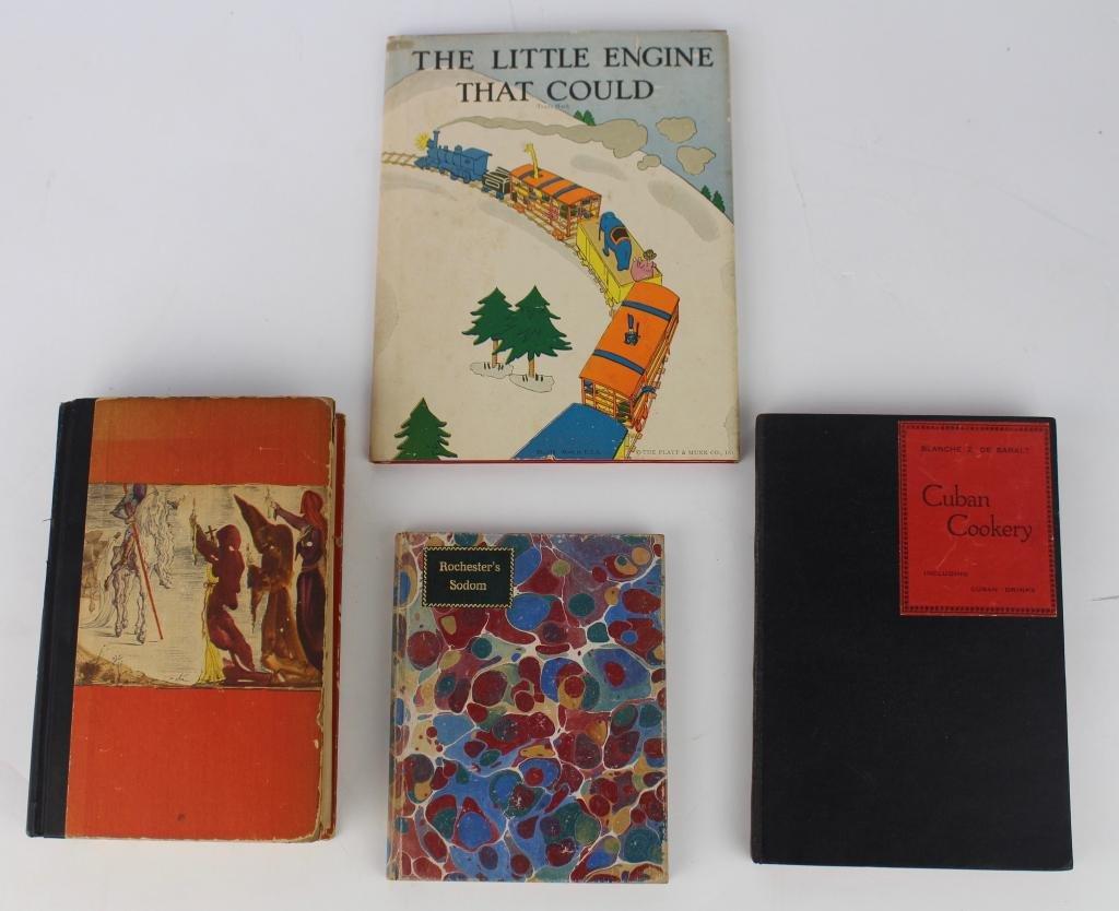 Four Rare Books