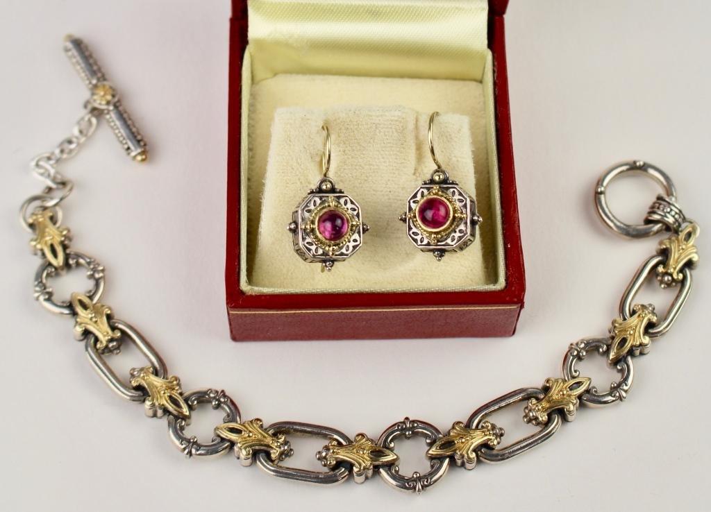 Konstantino Bracelet & Earrings