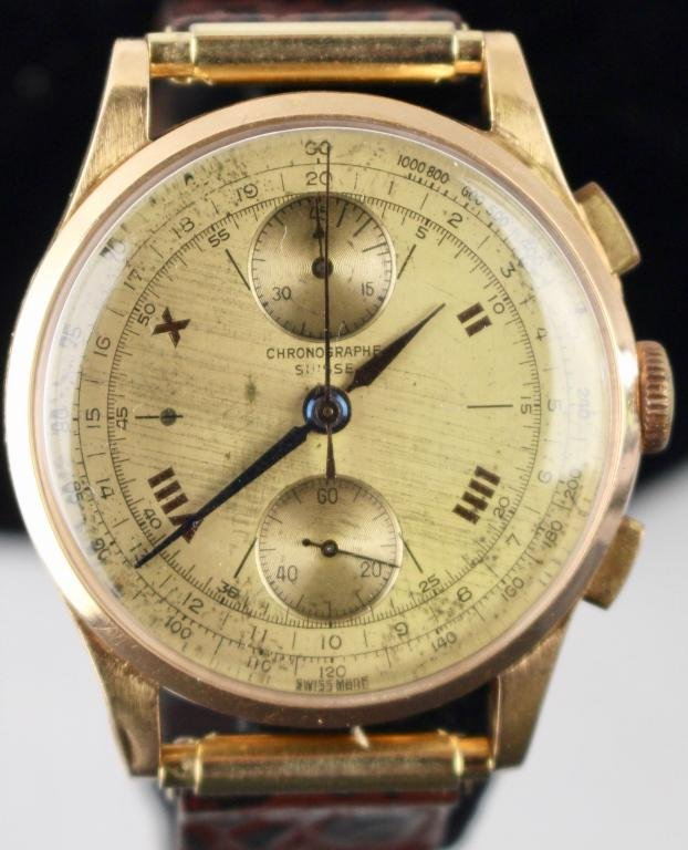 18K Chronographe Suisse Man's Watch