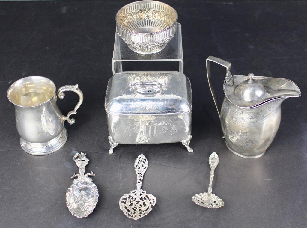 Sterling and Coin Silver Group (7)
