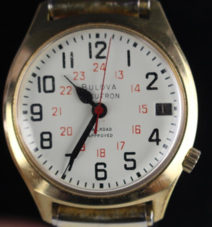 Bulova Accutron Railroad Watch