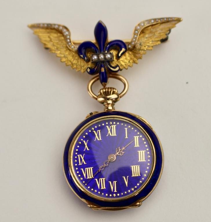 14K Female Aviatrix Watch