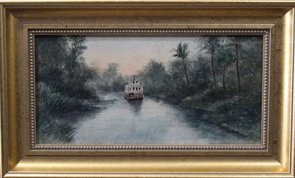 Early Florida Watercolor