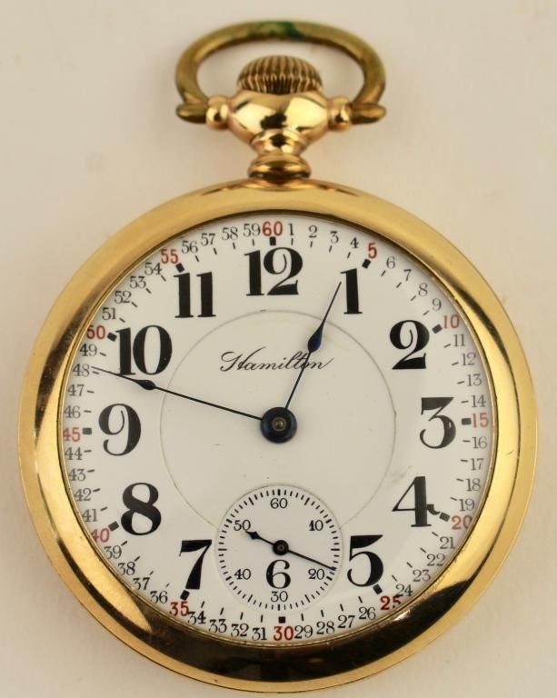 Hamilton Pocket Watch Montgomery Dial