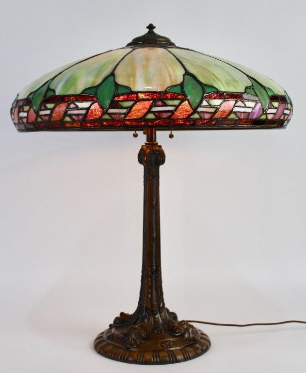Wilkinson Leaded Glass Table Lamp