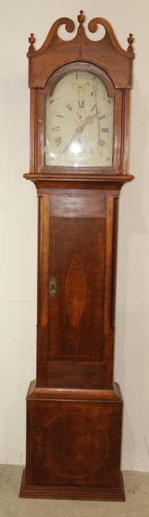 American Tall Case Clock, c. 1800