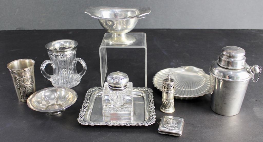Estate Sterling Silver Group