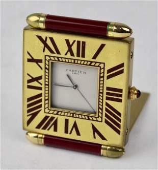 Cartier Travel Clock
