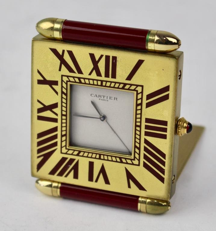 Cartier Travel Clock