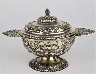 1796 Dutch Silver Brandy Bowl