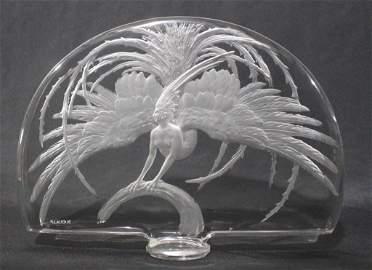 Rene Lalique Oiseau de Feu Sculpture