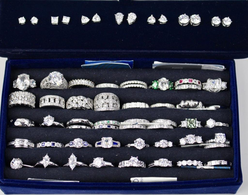 Tacori for Epiphany Rings & Earrings