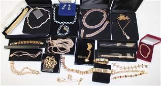 Designer Costume Jewelry Group