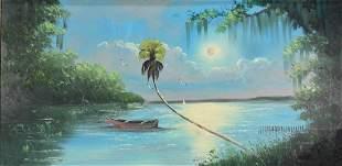 Al Black, Florida Highwayman Painting