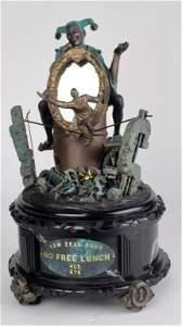 Extremely Rare Sam Zell Automaton