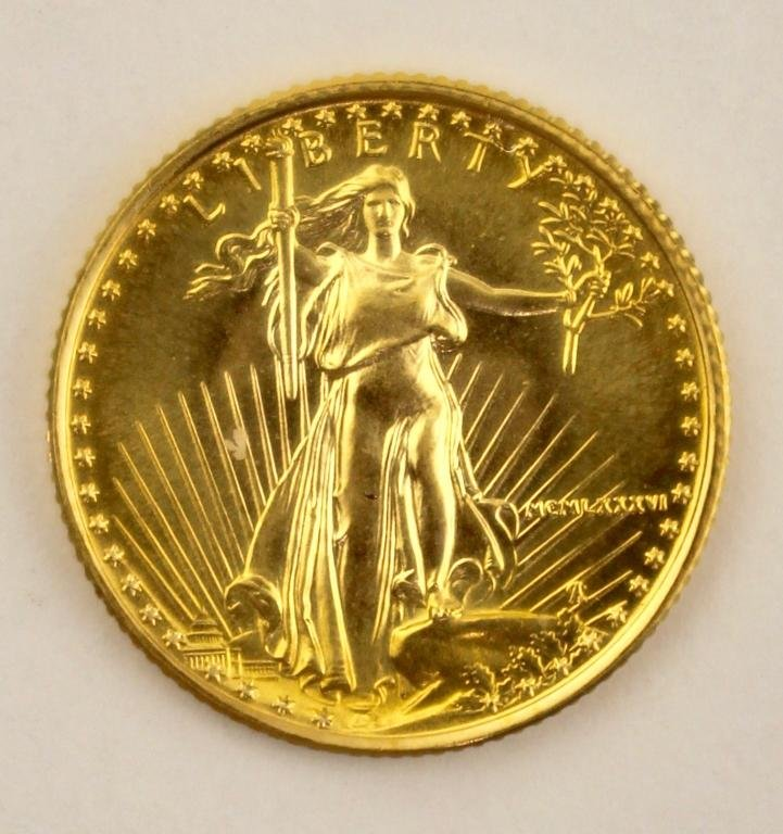.999 Fine Gold US Coin