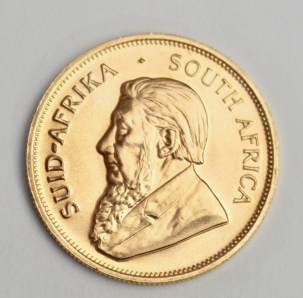 South African Kruggerand 1 Ounce Gold
