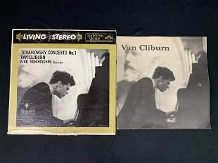 Van Cliburn Autograph on Concert Program 1960+LP
