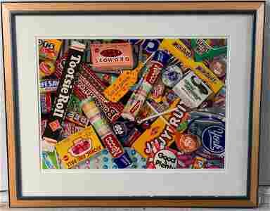 Clay Huffman Silkscreen -Confectionary Convention