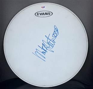 Mick Fleetwood Autographed Drum Head