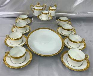 A. Raynaud Ceralene Limoges Cup & Saucer Set