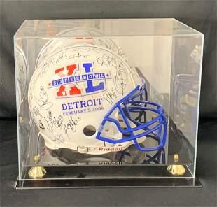 Super Bowl 40 Autographed Helmet - Pittsburg Steelers