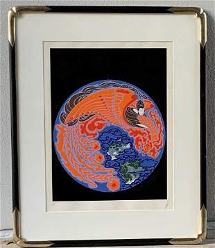 Erte' Original Artist Proof Signed