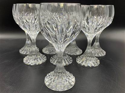 8 Baccarat Massena Crystal Wine Glass
